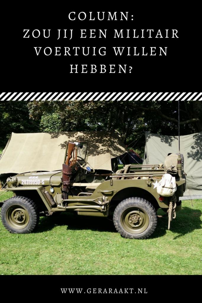 Militair voertuig