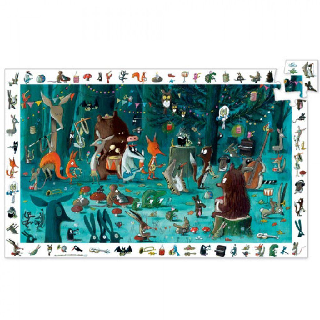 Djeco observatie puzzel dierenorkest