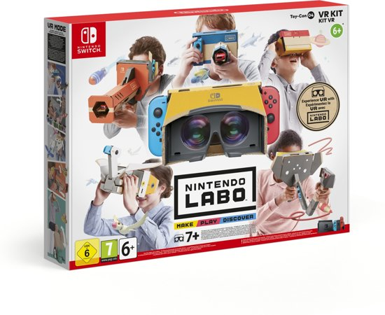 Nintendo Labo; Nintendo Labo VR-pakket; Nintendo Switch; Nintendo Switch Lite