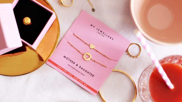Moeder en dochter armband van My Jewellery; Leuk persoonlijk sieraad om cadeau te geven en te krijgen