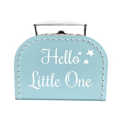 Gepersonaliseerd kraamcadeau; Persoonlijke tas of koffer bedrukt met naam of tekst