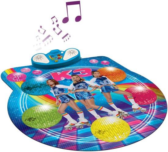 K3 rollerdisco dansmat cadeau meisje tot 5 jaar