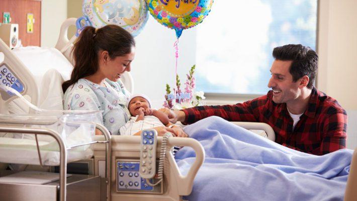 Mijn kraamweek in het ziekenhuis; Verhaal van mijn vierde zwangerschap;