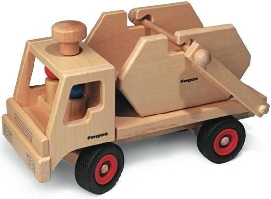 Fagus voertuigen; Houten speelgoed voor peuters kopen