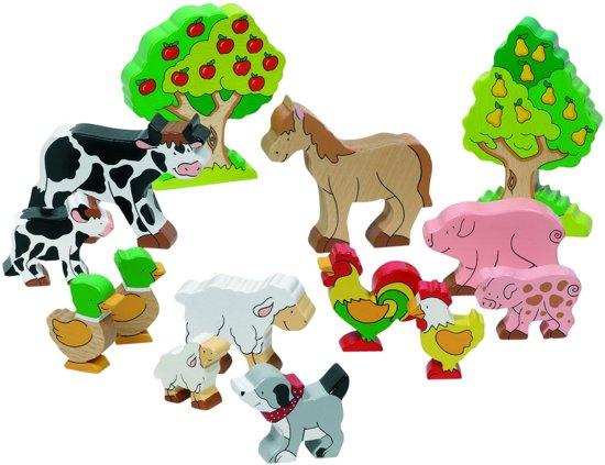 Houten dieren speelgoed kopen; Speelgoed voor kinderen met een open einde