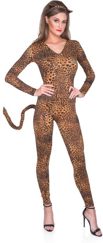 Leeuw, tijger, luipaard, panter kostuum voor carnaval of verkleedfeest