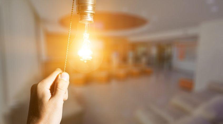 Earth Hour; Het uur der aarde; Lamp 1 uur uit om aandacht te vragen voor het klimaat