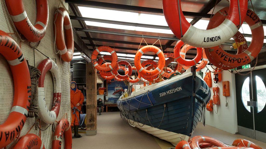 Joan Hodshon reddingsboot KNRM Texel