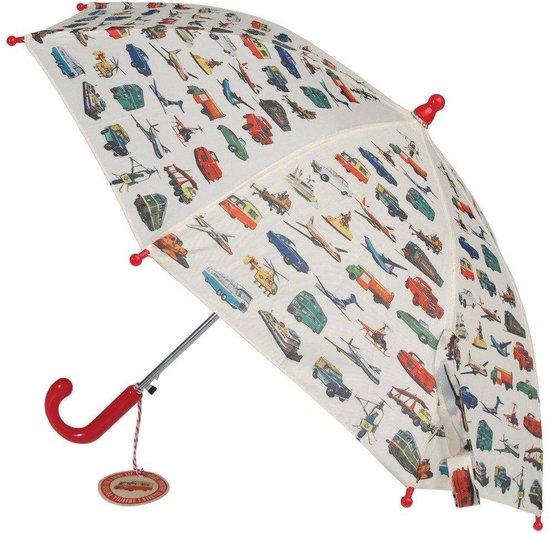 Kinder paraplu kopen; De leukste kinderparaplu's vintage transport