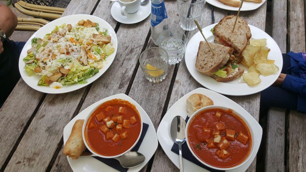 Lunch café restaurant De Eendracht Blaricum