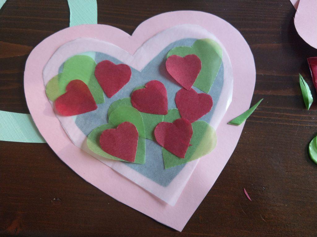 Valentijn hart versieren