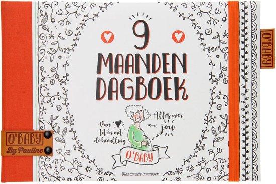 O'baby By Pauline 9 maanden dagboek, invulboeken zwangerschap