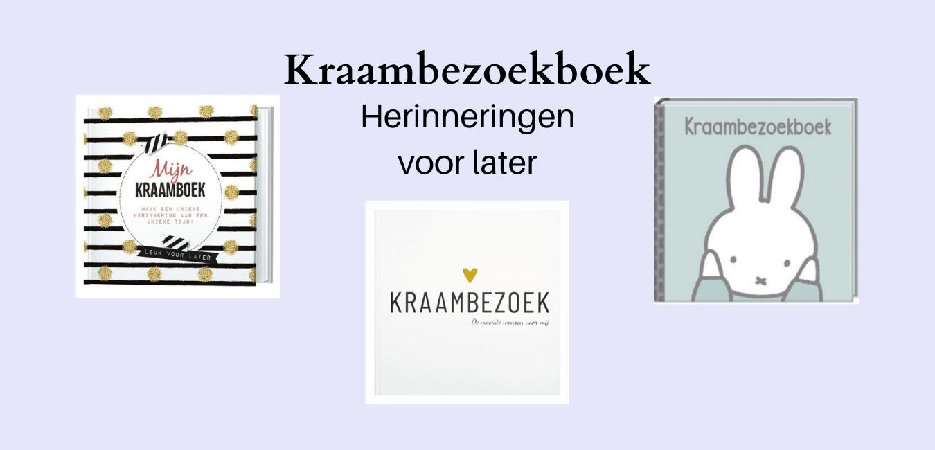 Kraambezoekboek kopen? Hier vind je een overzicht van de leukste kraambezoekboeken